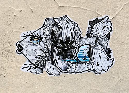 Pasted paper by Saveur Graffik [Lyon, France]