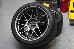 "19x12"" ET41 & 19x11"" ET11 ARC-8 Camaro Wheels (ApexRaceParts) Tags: arc8 anthracite"