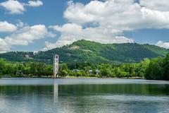 12:29 pm (agasfer) Tags: 2019 southcarolina greenville furman swanlake sony a6000 sonye1850oss parismountain carillon tower