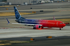 More To Love (planephotoman) Tags: boeing 737 739 737900 737990 737990wl n493as alaskaairlines moretolove speciallivery airline airliner pdxaircraft portlandinternationalairport pdx kpdx