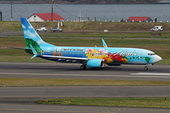 Spirit Of The Islands (planephotoman) Tags: boeing 737 738 737800 737890 n560as spiritoftheislands alaska alaskaairlines speciallivery special pdxaircraft portland international airport pdx kpdx
