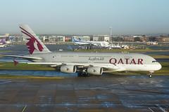 A7-APD Airbus A380-861 EGLL 16-12-18 (MarkP51) Tags: a7apd airbus a380861 a380 qatarairways qr qtr london heathrow airport lhr egll england airliner aircraft airplane plane image markp51 nikon d7200 sunshine sunny aviationphotography nikon24120f4vr