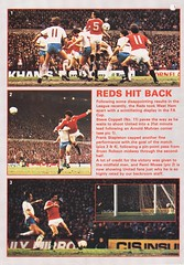 Manchester United vs Nottingham Forest - 1983 - Page 10 (The Sky Strikers) Tags: manchester united nottingham forest milk cup road to wembley old trafford review official season programme 30p