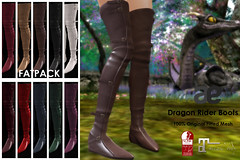 [ae] Dragon Rider Boots (sachi_vixen) Tags: wlrp ae sachi vixen adamneve secondlife avatar boots leather