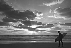 """I'll be back..."" (Roi.C) Tags: sky surfer sun clouds cloud sea waves wave water beach sand surfing people man season seascape landscape outdoor silhouette reflection nikkor nikon d5300 black white bw monochrome sunset israel light composition sharp photography nature winter lens trip lighting travel cloudscape beautiful peaceful hdr weather seaside sundown horizon dslr coast photo 2017 april shadow 18140mm mediterraneansea"