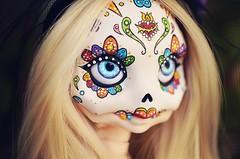 Calavera (Chantepierre) Tags: bjd balljointeddoll balljointed doll fc fullcusto full custo custom faceup makeup legit legitdoll ladicius chantepierre misterminoudolls misterminou skully calavera