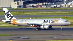 Airbus A320-232, JA03JJ, Jetstar Japan (tkosada.mac) Tags: jetstar jetstarjapan airbus a320 tokyointernationalairport hanedaairport hnd rjtt