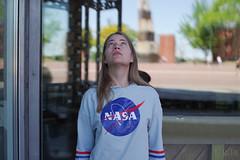 World Space Day (3rd of May) (RickB500) Tags: rickb rickb500 nastya paloma dasha cute blonde portrait girl nasa outdoors cologne space