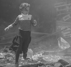 Seems Yoram insists to continue distributing fake photos… (ybiberman) Tags: israel jerusalem meahshearim passover ultraorthodoxjews jews ultraorthodox feast girl fire smoke running people portrait candid streetphotography documentary bw blackandwhite destructionofleaven beurchametz