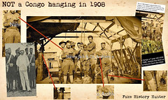 NOT a Congo hanging in 1908 (Jo Hedwig Teeuwisse) Tags: hanging lynchinc congo boy 1908 kingleopold colonialism colonies belgian belgium ww1 american soldier soldiers black africanamerican child murder bible fakehistory campzacharytaylor louisville kentucky racism hate tension