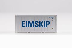 🚛 Kombimodell 20' 22R1 EIMU2704352 side1 (EIMSKIP) (msslovi0) Tags: container 187 h0 ho kombimodell 22r1 eimskip eimskipafélagíslands klv kv ukv intermodal reefer refrigerator coolingunit