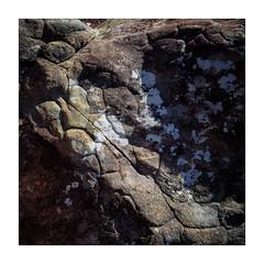 On The River Bed (gerainte1) Tags: torridon scotland rocks film velvia50 hasselblad501