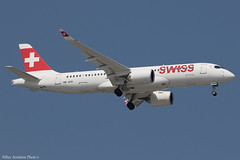 HB-JCR (Baz Aviation Photo's) Tags: hbjcr airbus a220300 swiss swr lx heathrow egll lhr 09l lx354