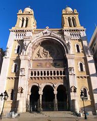 exterior Catedral de San Vicente de Paul iglesia catolica Tunez 02 (Rafael Gomez - http://micamara.es) Tags: exterior catedral de san vicente paul iglesia catolica tunez ciudad edificio historico centro