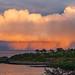 Rainy sunset at Havsøy
