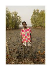 Portrait - Gambia (Vincent Karcher) Tags: gambia west africa afrique ouest people gens enfant fishing mangrove playing colors portrait face project travel street rue vincentkarcherphotography