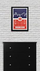Denver Broncos Poster Art (ShaferPrintShop) Tags: denver denverbroncos tecmobowl football denverbroncosposter broncos sportsartposter