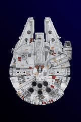 Millennium Falcon ROTJ (Mark II)-1 (Marshal Banana) Tags: lego starwars millenniumfalcon falcon moc 32 star wars corellian transport freighter spaceship