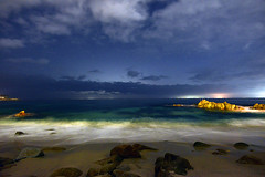 Coast@Night_03 (DonBantumPhotography.com) Tags: landscapes seascapes nightscapes longexposure night timelapse beaches ocean nightsky wwater rocks clouds lights surf donbantumphotographycom donbantumcom californiacoastline stars space northerncaliforniacoast