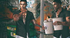 #66 (Leon Miranda) Tags: shirt new level event galvanized chemise ice junk food