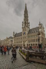 Grand Place (R.Duran) Tags: photoshopexpress hdr sigma1020mm d7200 nikon europe europa belgique belgium bélgica brussels bruselas hôteldeville cityhall ayuntamiento granplaza grootemarkt grandplace