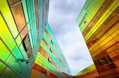 la defense (teun_van_dijk) Tags: 09 ladefense almere netherlands fuji teunvandijk architecture city travel building colors velvia unstudio