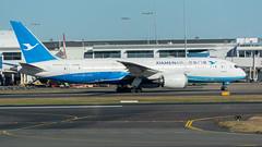 Xiamen Air Boeing 787-800 B2760 Departing Sydney Airport (greenyones) Tags: xiamen air boeing 787800 dreamliner sydney airport b2760