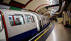 tube (amazingstoker) Tags: bakerloo line tube underground platform yellow lines curve mind gap tfl piccadilly circus