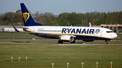 Ryanair EI-EGD 737-8AS EGCC 04.05.2019 (airplanes_uk) Tags: 04052019 737 aviation boeing eiegd man manchesterairport planes ryanair
