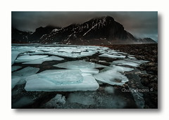 Ice Age. (Chula Amonjanyaporn) Tags: จุฬา อมรจรรยาภรณ์ chula amonjanyaporn norway europe lofoten ice