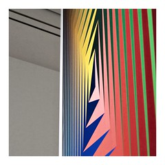 2019-01-10 | untitled (clemisan) Tags: städel frankfurt museum victorvasarely abstract colours exhibition linescurves lines