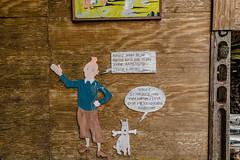 08-Tintin et Milou (Alain COSTE) Tags: 2019 hautevienne lavarache limousin nikon ocb printemps sigma20mmf14 eymoutiers france musée de la récup muséedelarécup