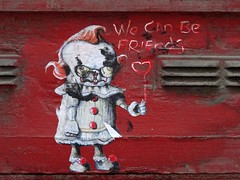 We can be friends.... (stillunusual) Tags: manchester mcr city england uk northernquarter nq manchesterstreetphotography streetphotography street urban urbanscenery streetart urbanart urbanwalls wall wallart wallporn graffiti graffitiporn 2019