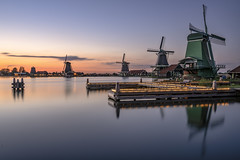 Holland Evening Mood (Achim Thomae Photography) Tags: 2019 achimthomae holland niederlande windmühle windmill sunset netherlands