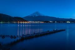 Fuji-San in the blue hour (Flutechill) Tags: bluehours bluehour mtfuji mountain nikond750 longexposure yamanashi japan landscape lake kawaguchiko fuji fujimount fujisan