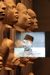 indonesia (andrevanb) Tags: amsterdam rijkmuseum indonesia nederland dutch colonialism 1910 race nias islands facial cast breath straw