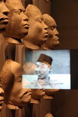 indonesia (andrevanb) Tags: amsterdam rijkmuseum indonesia nederland dutch colonialism 1910 race nias islands facial cast breath straw