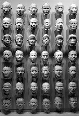 facemask of hono-hono and 41 other nias islanders (andrevanb) Tags: amsterdam rijkmuseum indonesia nederland dutch colonialism 1910 race nias islands facial cast breath straw