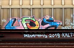 graffiti on freights (wojofoto) Tags: amsterdam nederland netherland holland graffiti streetart cargotrain freighttraingraffiti freighttrain freights fr8 vrachttrein wojofoto wolfgangjosten trein train ufos