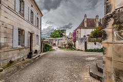 15-Rue de l'église (Alain COSTE) Tags: 2019 bourdeilles dordogne nikon ocb périgordvert sigma20mmf14 printemps village france