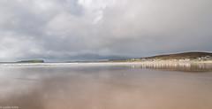 Wet sand (Donard850) Tags: ireland achill island sand reflections sky sea moody clouds