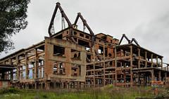 Kombinati Metalurgjik Remains in Elbasan, Albania (stevebfotos) Tags: elbasan albania steel iron pollution kombinati metalurgjik factory communism balkans
