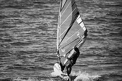 It has been a sunny day today (Fnikos) Tags: sea mar mare water sport deporte people shadow shadows blackandwhite monochrome absoluteblackandwhite outside outdoor
