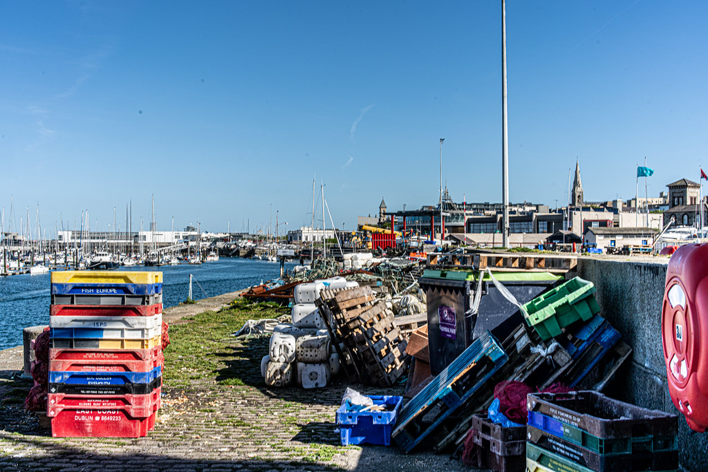 TRADERS' WARF AREA [WEST PIER DUN LAOGHAIRE HARBOUR]-152241