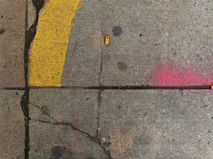 A17633 / underfoot on wooster street (janeland) Tags: newyorkcity newyork 10012 soho woosterstreet pavement underfoot pe016 may 2018 ongrey abstract