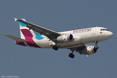 D-AGWU (Baz Aviation Photo's) Tags: dagwu airbus a319132 eurowings ewg ew heathrow egll lhr 09l ew464