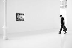 (fernando_gm) Tags: 35mm fujifilm madrid street xt1 retiro blackandwhite bw blancoynegro spain minimalist minimalista minimalism fuji f14 people person persona museum museo alone solo simplicity simple simply art artistic arte