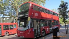 P1160073 VH45313 LF19 FWE at Ealing Broadway Station Haven Green Ealing Broadway London (LJ61 GXN (was LK60 HPJ)) Tags: ratp londonunited volvob5lhybrid wrightbusgemini3streetdeckstyle wrightbusgemini3 106m 10600mm vh45313 lf19fwe ar118