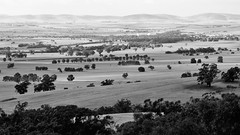A Dry Year looks better in Black & White!  Southern Flinders Ranges, South Australia (Red Nomad OZ) Tags: landscape laura midnorth southaustralia australia monochrome rural country countryside outdoor flindersranges southernflindersranges farm farmland agriculture