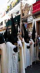Semana Santa in Sevilla (Roelie Wilms) Tags: nazarenos nazareno hermandad macarena esperanzamacarena spain spanje españaandalusië sevilla seville semanasanta andalusië andalusia andalucía